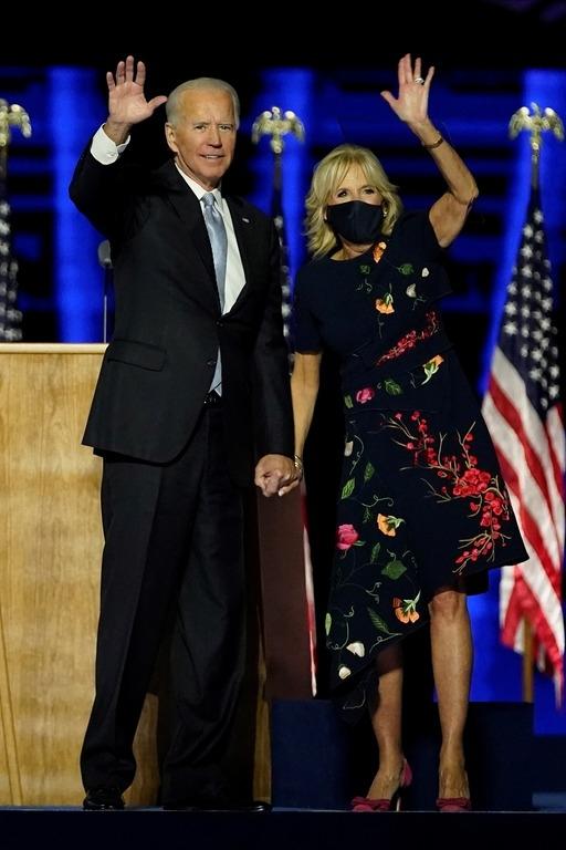 Джилл и Джо Байден фото