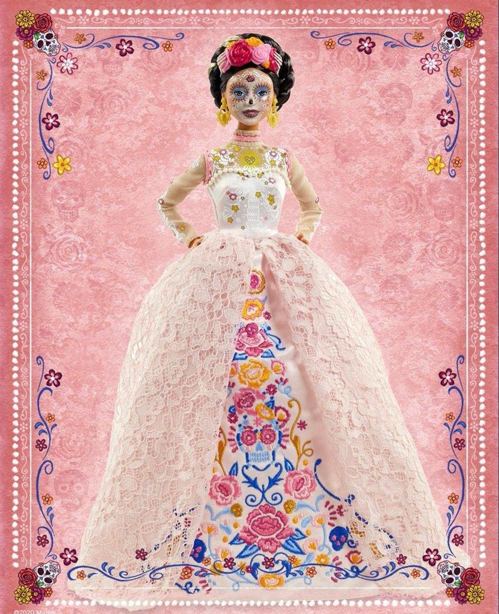 Страшно красиво: Mattel выпустят куклу Барби ко Дню мертвых - фото №2