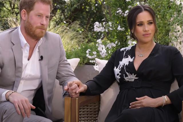 Мысли о суициде, тайная свадьба, расизм в королевской семье: главное из интервью Меган Маркл и принца Гарри - фото №1