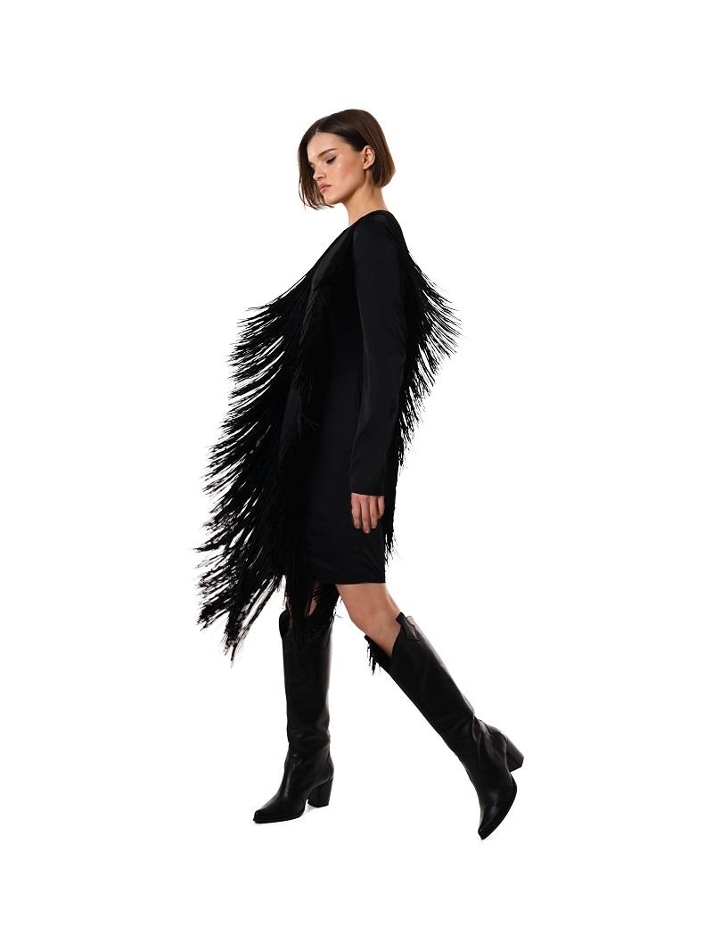 Шелковые платья и бахрома в новой коллекции GASANOVA (ФОТО) - фото №5
