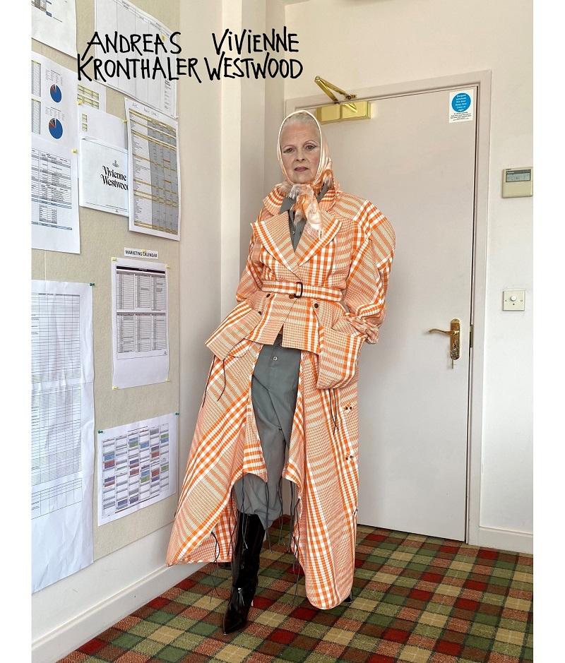 Королева эпатажа: 79-летняя Вивьен Вествуд снялась рекламе для новой коллекции своего бренда (ФОТО) - фото №2