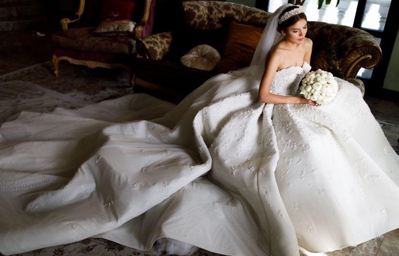 Самые яркие свадебные платья украинских звезд (ФОТО) - фото №20