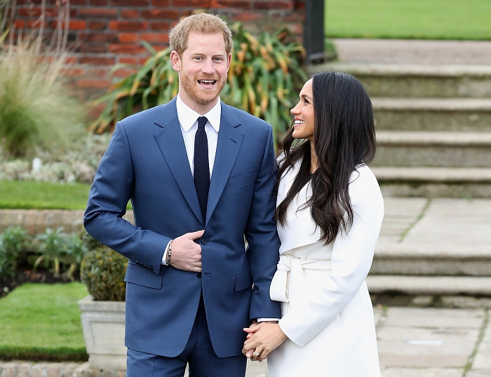 Принц Гарри и Меган Маркл: подборка трогательных кадров герцогов Сассекских - фото №14