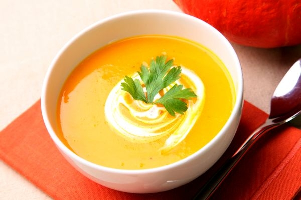 тыквенный суп рецепт