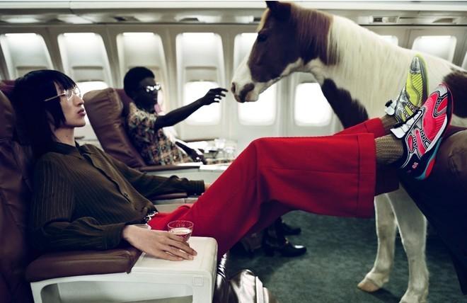 Главные герои новой компании Gucci ... лошади (ФОТО) - фото №9