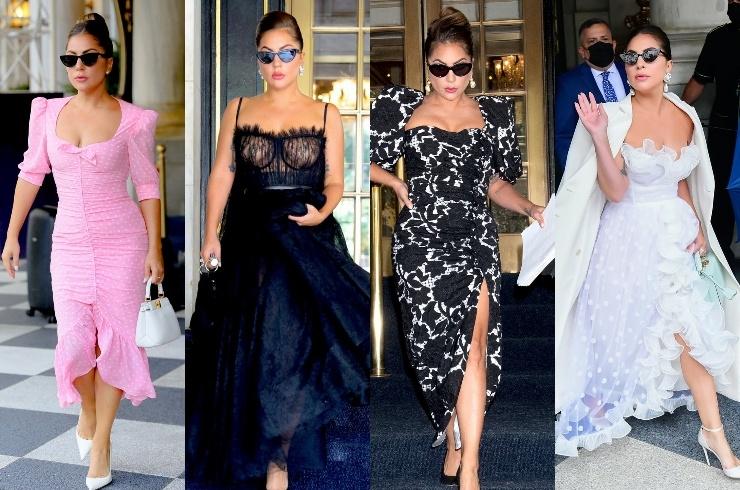 В духе старого Голливуда: Леди Гага восхитила поклонников новыми образами (ФОТО+ГОЛОСОВАНИЕ) - фото №5