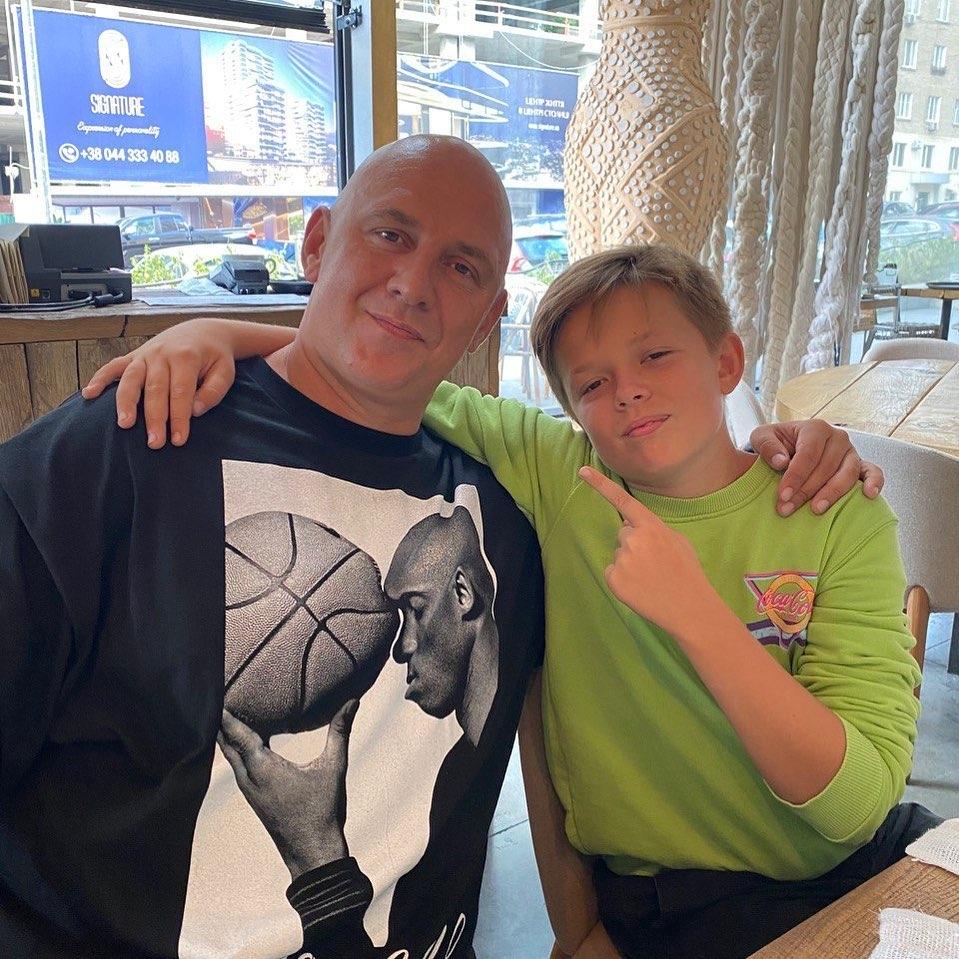 Потап с сыном фото