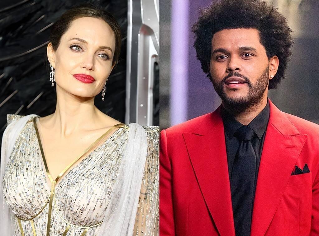 Подогревают слухи о романе? Анджелину Джоли и The Weeknd снова заметили вместе - фото №1