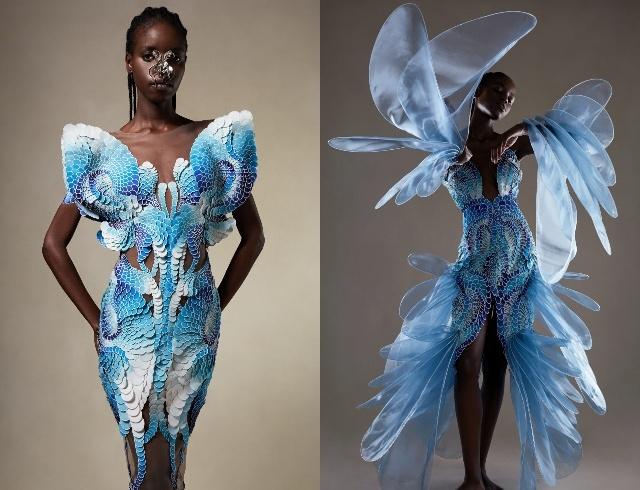 Неделя высокой моды в Париже: Dior, Chanel, Schiaparelli и другие коллекции именитых брендов (ФОТО) - фото №12