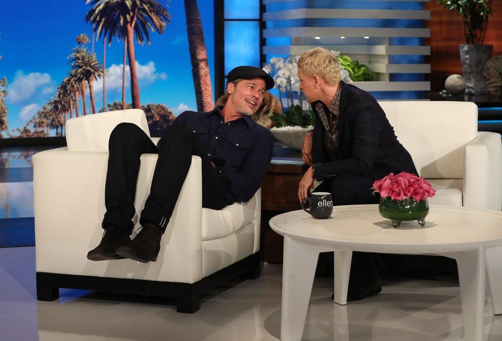 The Ellen DeGeneres Show Брэд Питт