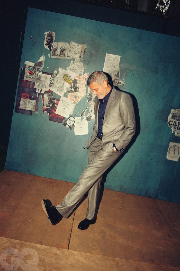 """""""Я думал, что никогда не женюсь"""": Джордж Клуни снялся для GQ и рассказал о своей жене (ФОТО) - фото №6"""