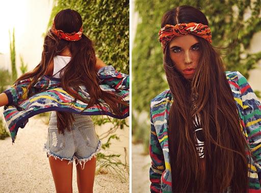 Как носить бандану на голове: ТОП-5 модных идей - фото №6