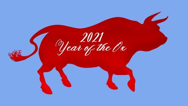 открытки год быка