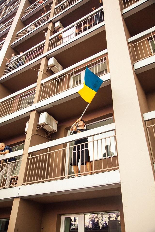 Первый вертикальный рок-фестиваль в мире. Как прошел BRO! FEST ко Дню независимости Украины? (ФОТО) - фото №4
