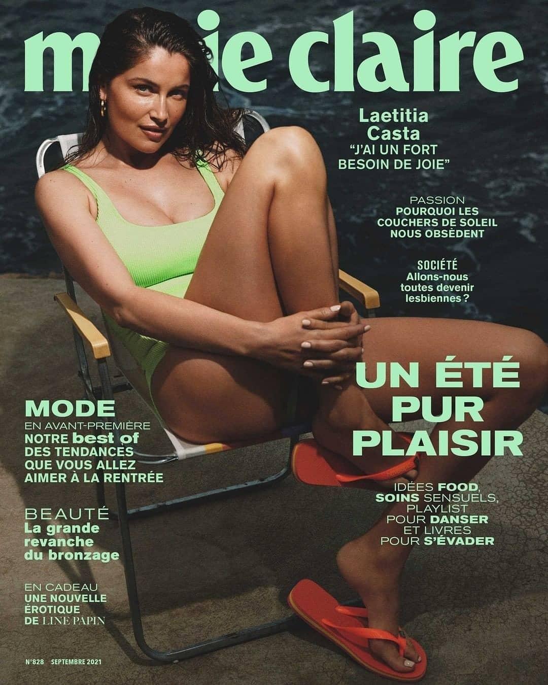 Натуральная красота: Летиция Каста снялась в соблазнительной фотосессии для французского глянца (ФОТО) - фото №1