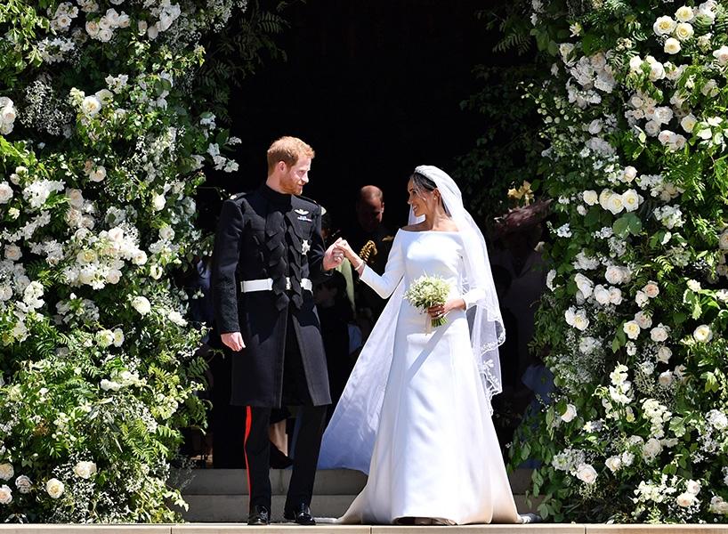 свадьба меган и гарри фото