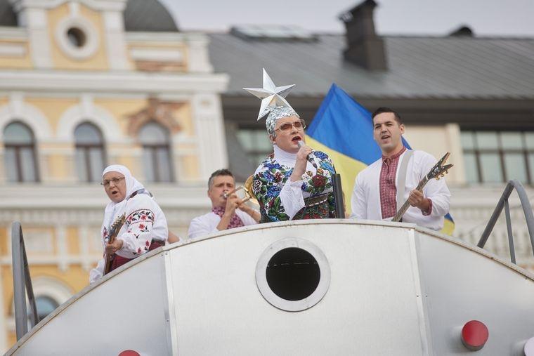 """""""Бумбокс"""" и """"Океан Ельзи"""" заявили, что их песни использовали незаконно на концерте ко Дню независимости Украины - фото №1"""