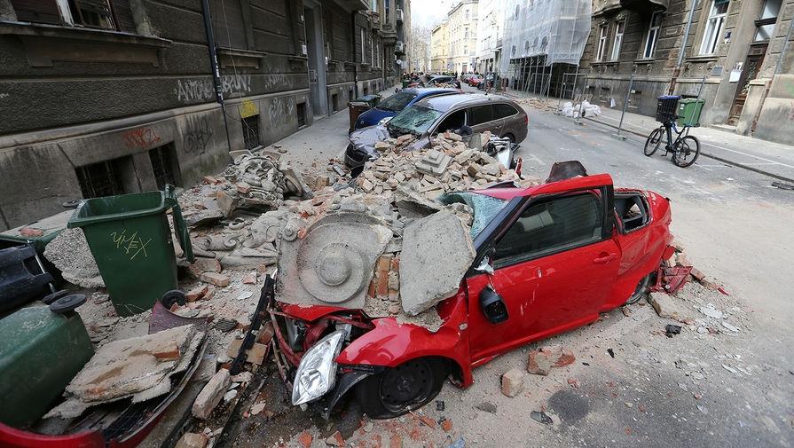 землетрясение в хорватии 2020