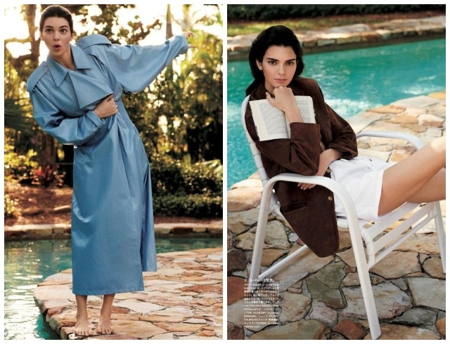 Кендалл Дженнер украсила обложку японского Vogue и показала, как носить главные тренды этого лета (ФОТО) - фото №4