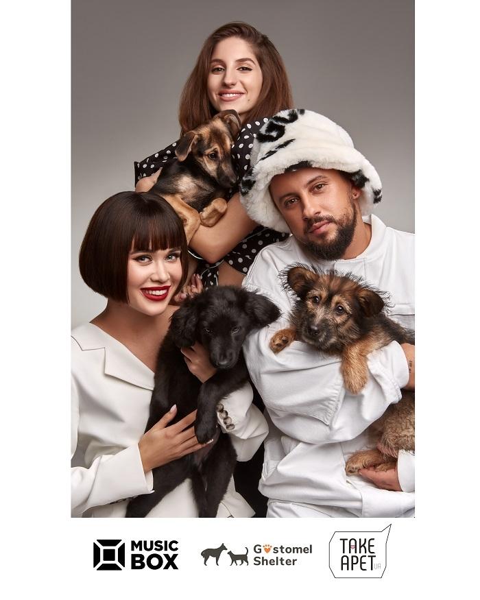 MONATIK, DOROFEEVA, NK, Alekseev, Ирина Билык и другие звезды объединились ради бездомных животных - фото №3
