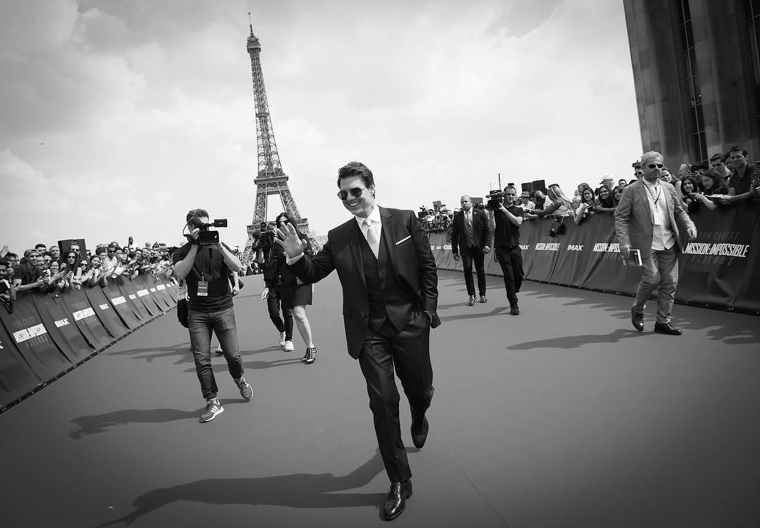 """У Тома Круза во время съемок """"Миссии невыполнимой"""" угнали машину - фото №1"""