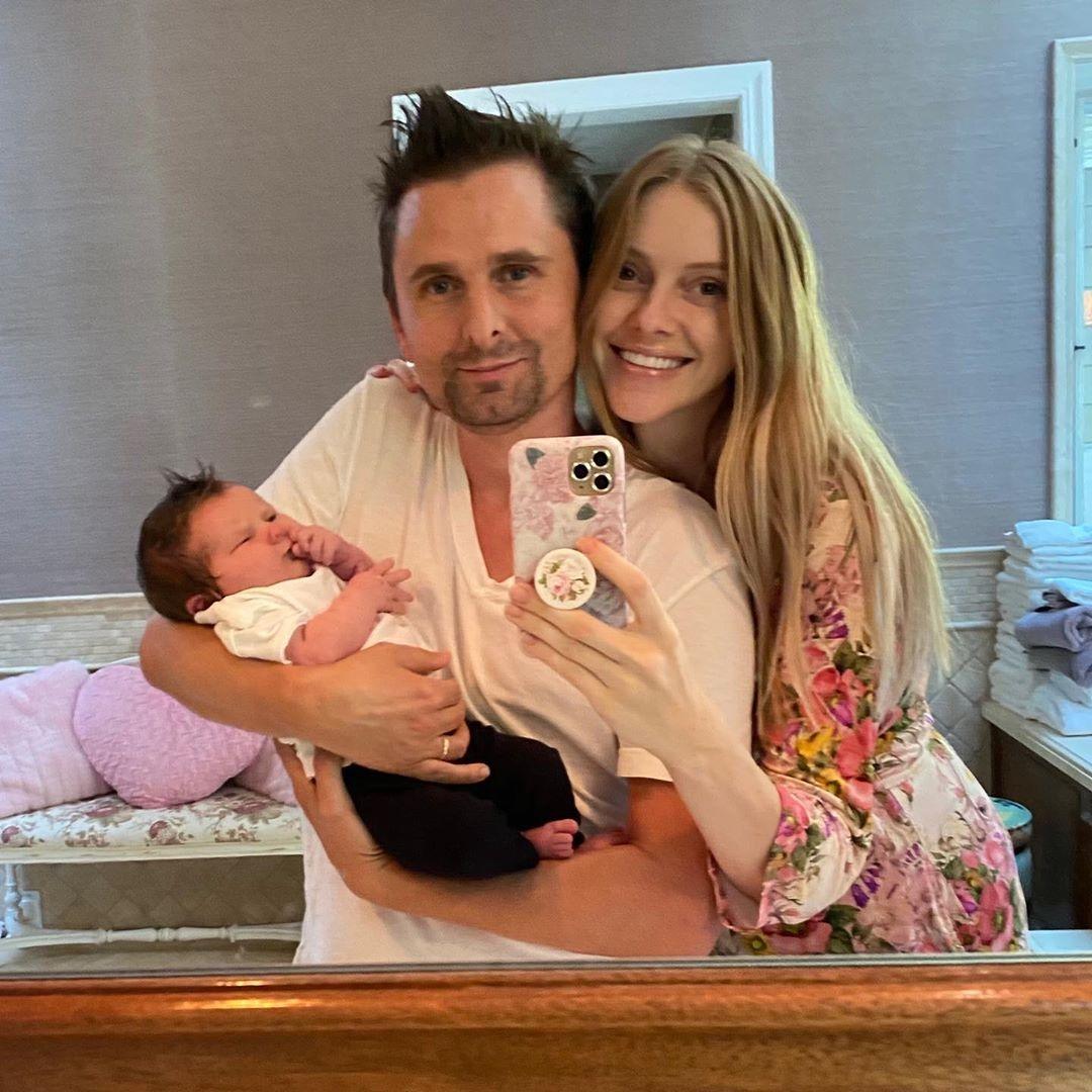 мэттью беллами стал отцом во второй раз