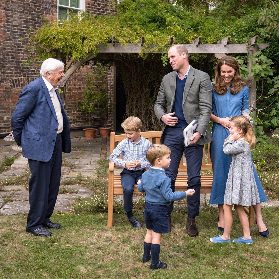 Семья Герцогов Кембриджских с Дэвидом Аттенборо