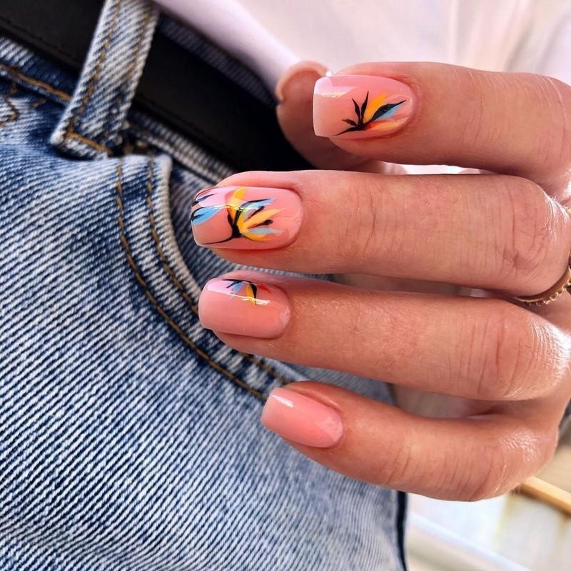 Стильный маникюр: ТОП-20 дизайнов ногтей на лето - фото №18