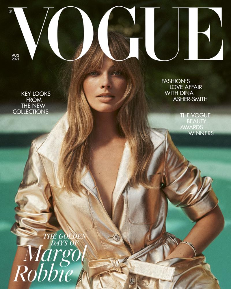 """Звезда """"Отряда самоубийц"""" Марго Робби украсила обложку британского Vogue (ФОТО) - фото №1"""