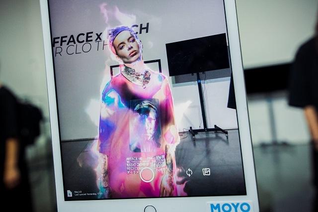 Мода и высокие технологии: как прошел показ полу-виртуальной одежды FFFACE x FINCH (ФОТО) - фото №2
