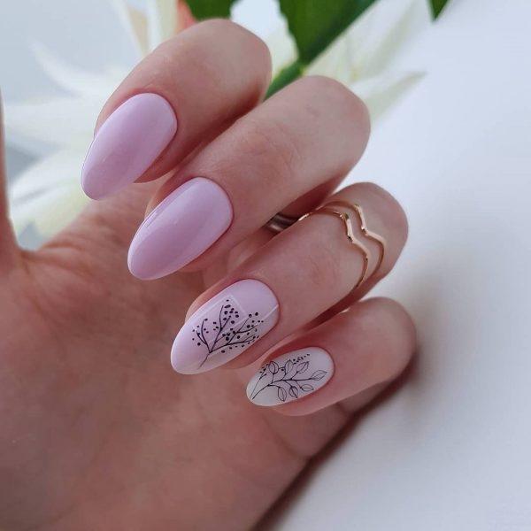 Стильный маникюр: ТОП-20 дизайнов ногтей на лето - фото №22