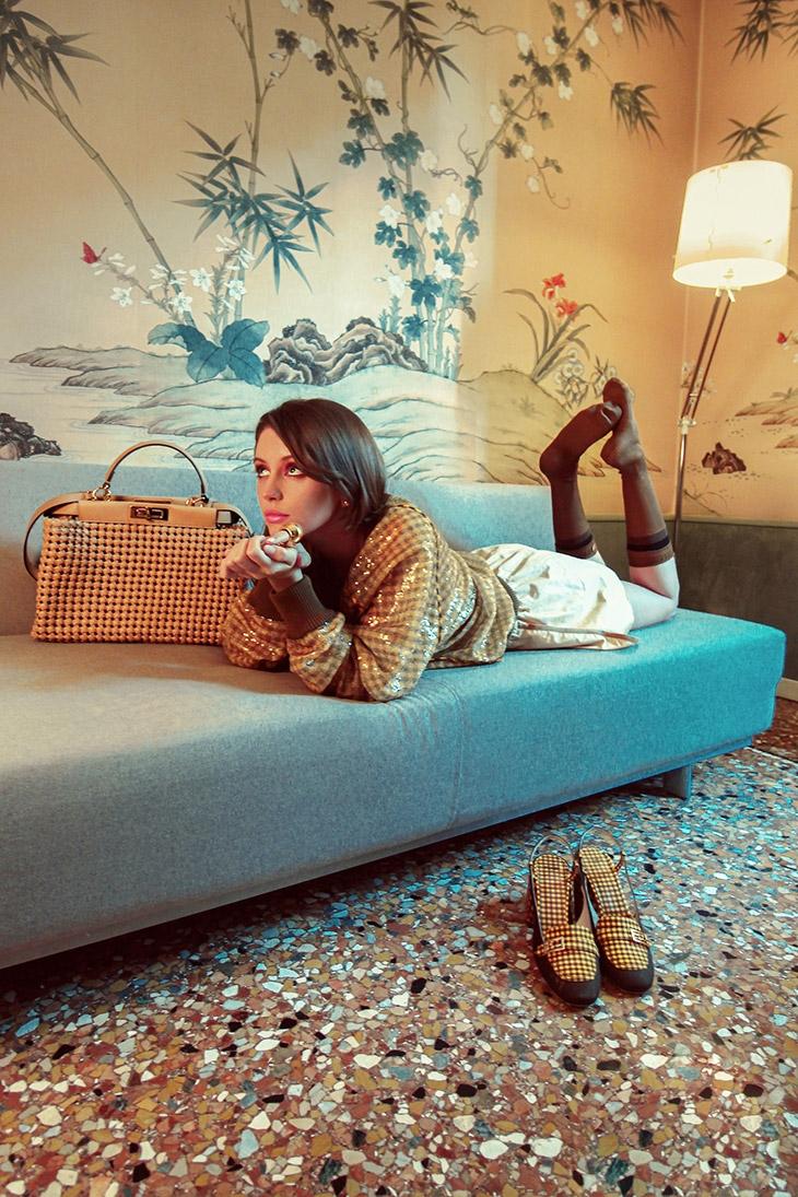 Дочь актера Джуда Лоу стала лицом новой рекламной кампании Fendi (ФОТО) - фото №1