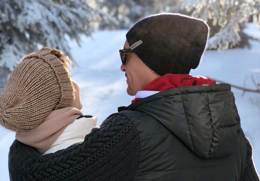 Анита Луценко с мужем