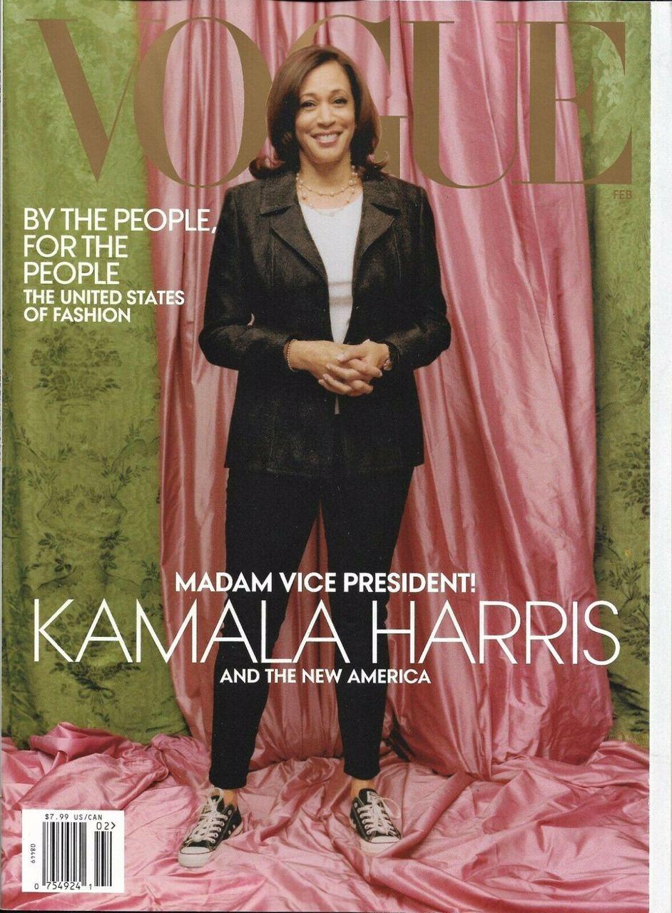 Камала Харрис украсила новую обложку американского Vogue (ФОТО) - фото №2
