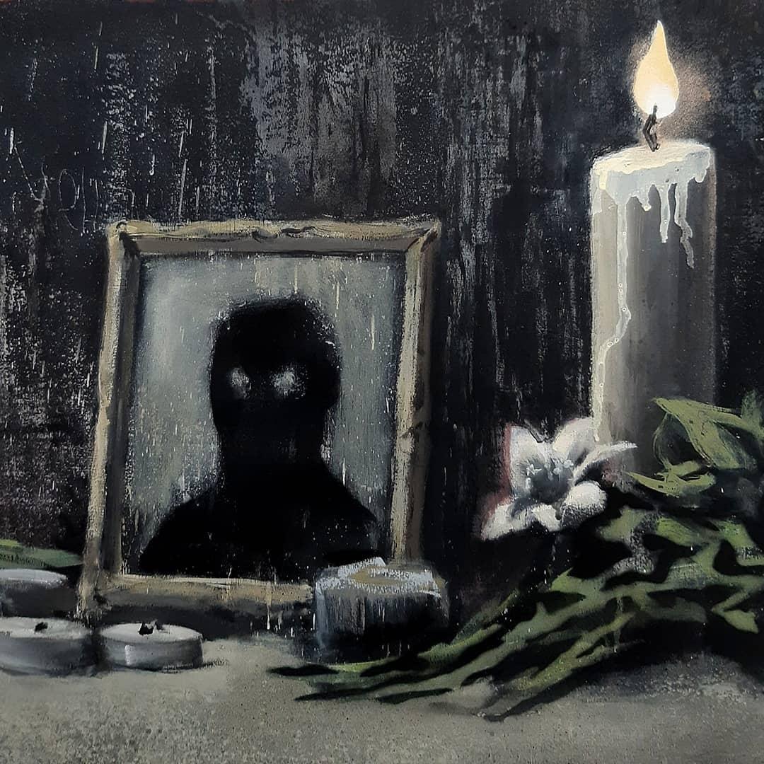 Художник Бэнкси поджигает американский флаг в новой работе, посвященной теме расизма и произвола полиции (ФОТО) - фото №1