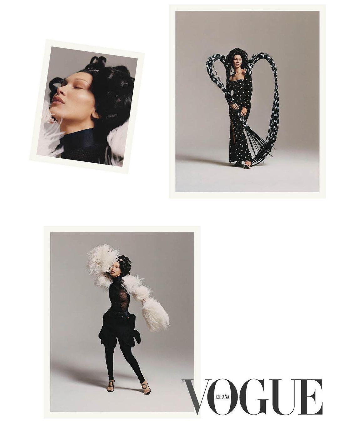 Белла Хадид снялась для испанского Vogue в образе Марии Антуанетты (ФОТО) - фото №5
