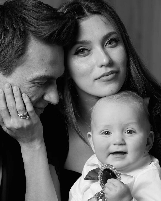 Регина Тодоренко и Влад Топалов с сыном Майклом