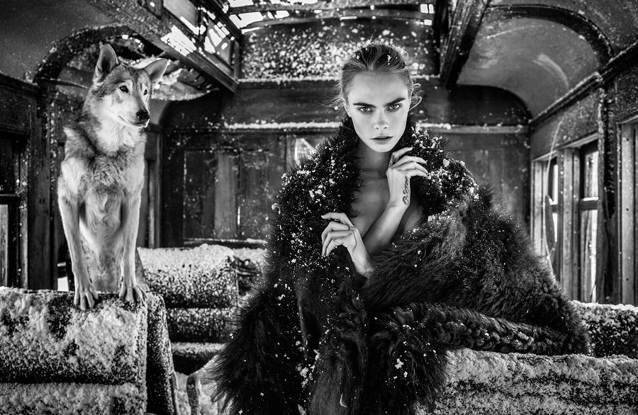Дикий запад: Кара Делевинь появилась в образе знаменитой гангстерши (ФОТО) - фото №1