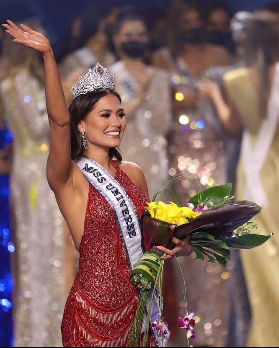 Андреа Меза победительница мисс вселенная 2020