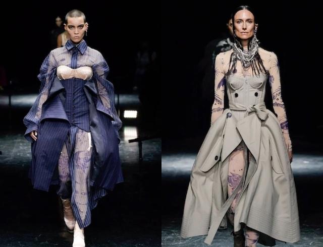 Неделя высокой моды в Париже: рассматриваем коллекции Armani, Jean Paul Gaultier и дургих диазйеров - фото №4