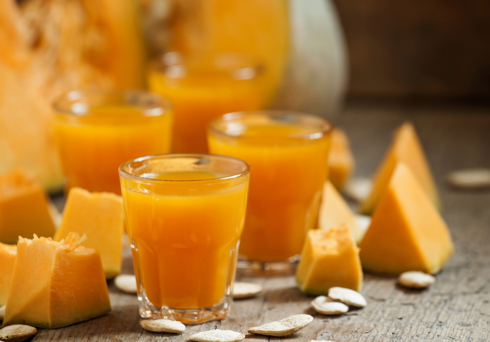 тыквенный сок польза
