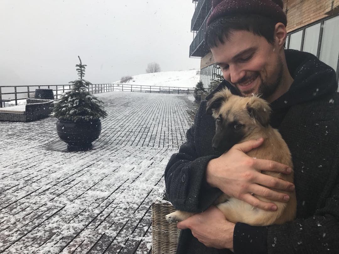 данила козловский спас щенка