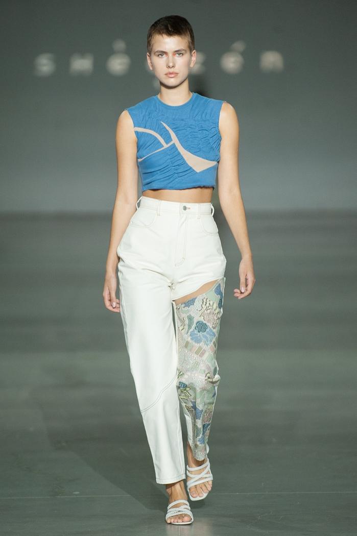 Новое поколение моды: знакомимся с молодыми дизайнерами, которые представили свои коллекции в рамках Ukrainian Fashion Week noseason sept 2021 - фото №5