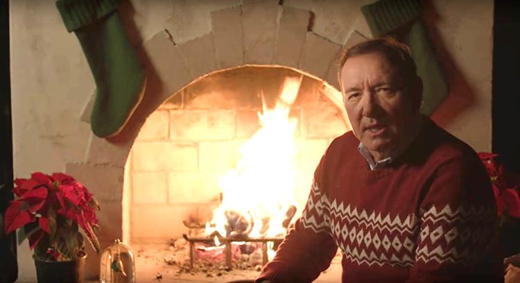 Рождественское видео от Кевина Спейси 2019: актер из Карточный домик в образе Фрэнка Андервуда