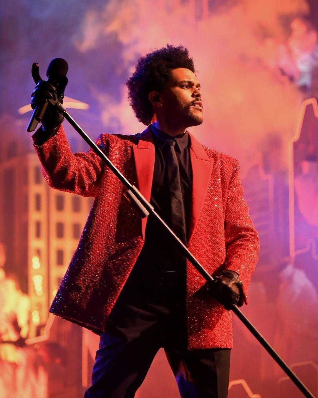 The Weeknd суперкубок 2021