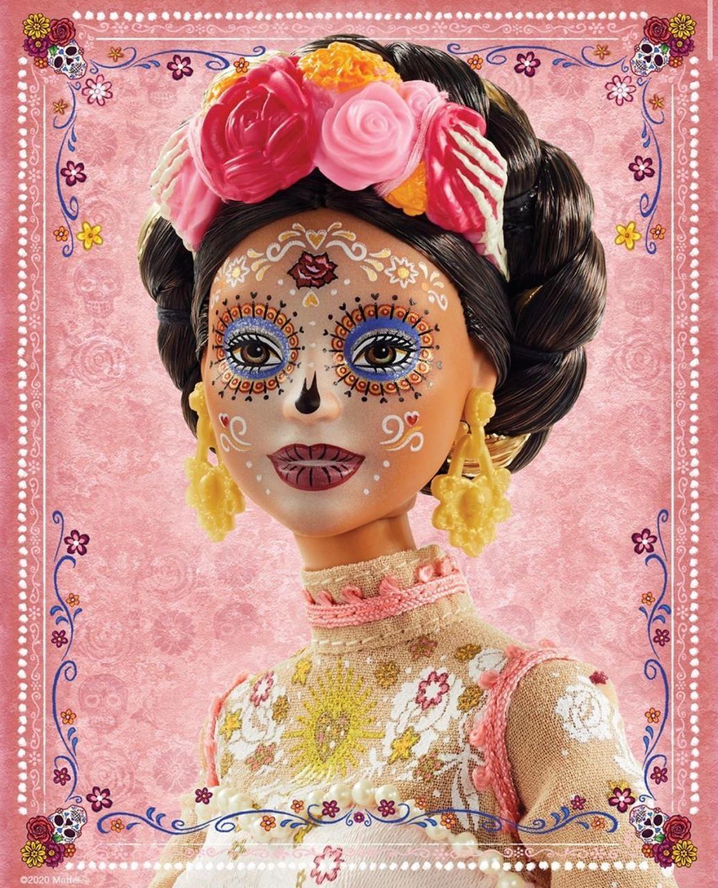 Страшно красиво: Mattel выпустят куклу Барби ко Дню мертвых - фото №1