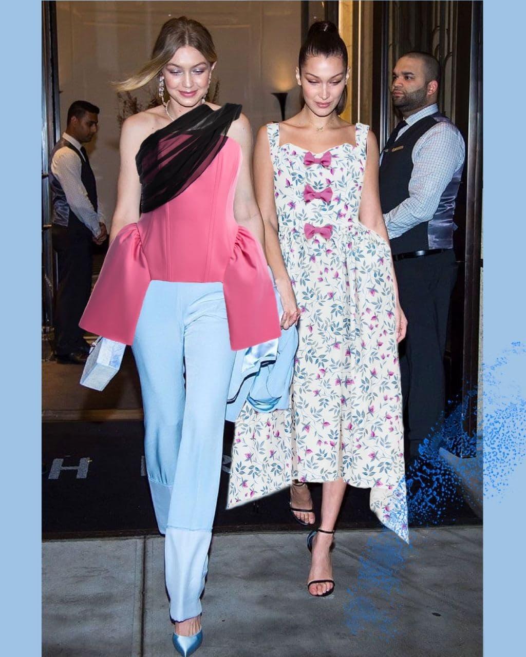 Звездный флешмоб: дизайнер Дарья Донец в шутку примерила свои наряды на мировых знаменитостях (ФОТО) - фото №6