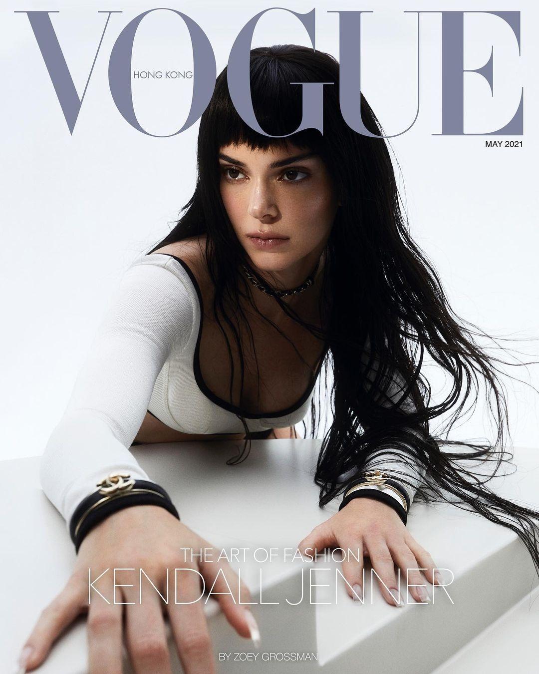 Кендалл Дженнер украсила обложку Vogue и рассказала о панических атаках (ФОТО) - фото №1