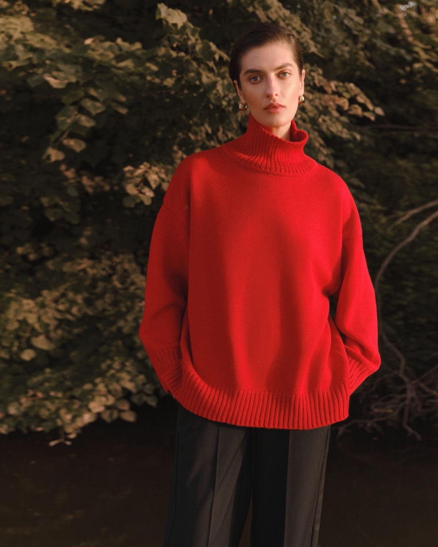 Структурированные пиджаки, трикотажные платья и туники в новой коллекции L.A.B BY TERNOVSKAYA - фото №5