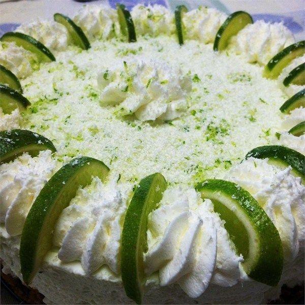 Лаймовый торт без выпекания